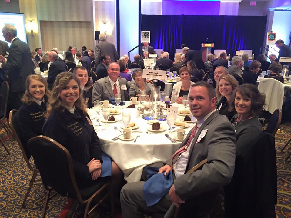 Kentucky FFA Foundation Table