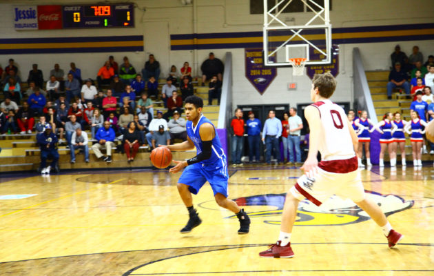 Indians Win First Round of 20th District Tournament