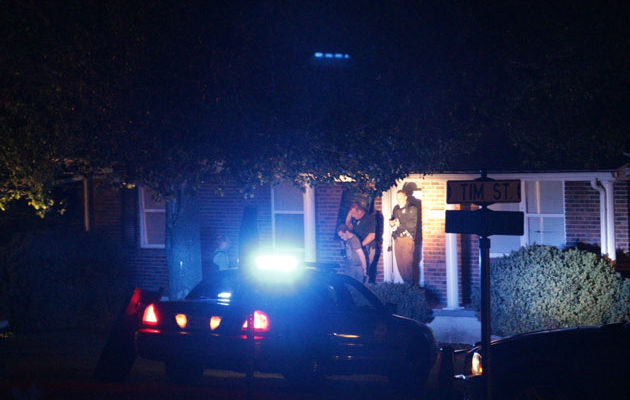 Standoff at Columbia residence ends in peaceful arrest of shooting suspect