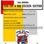20th Annual Fish Fry & BBQ Chicken/Auction