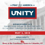 National Day of Prayer is Thursday, May 3