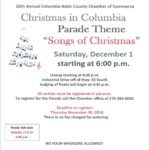 Christmas in Columbia is Saturday, Dec. 1
