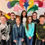 ACMS 6th grade students of the month