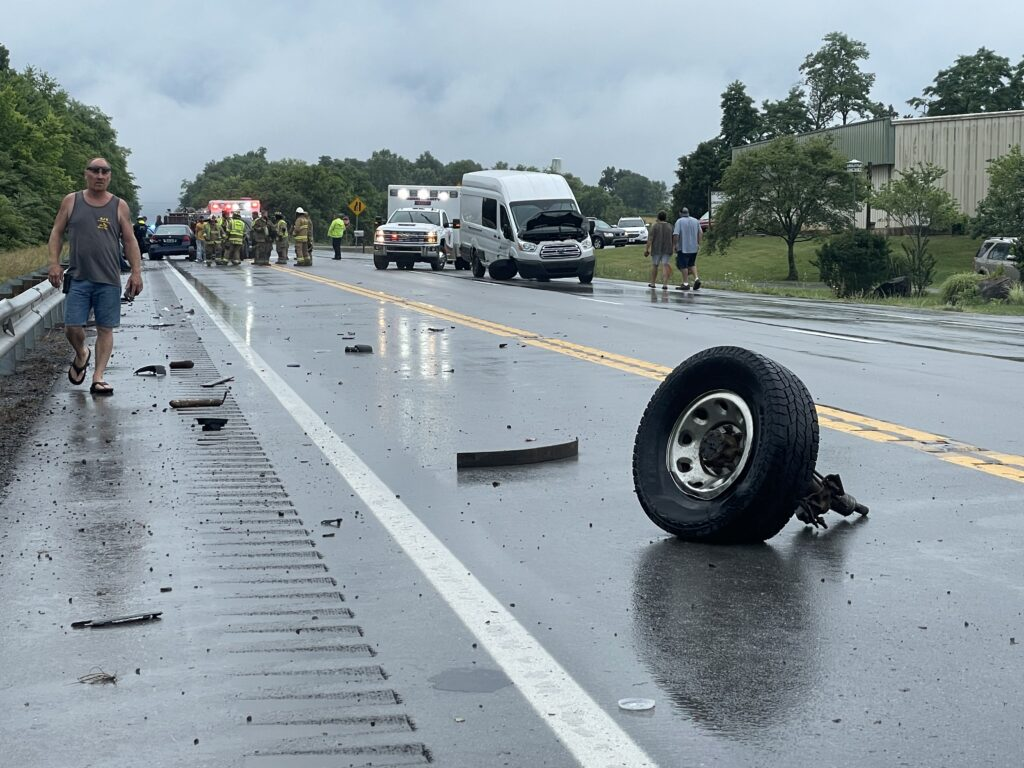 Hwy 55 accident